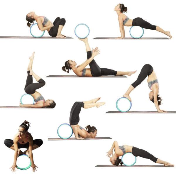 ruota yoga in schiuma tpe stretching
