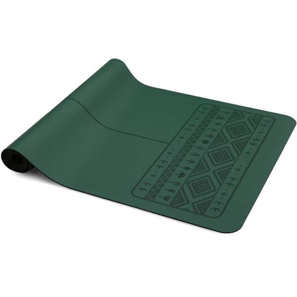 tappetino yoga antiscivolo verde