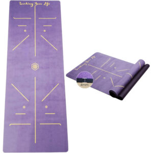 tappetino yoga microfibra golden