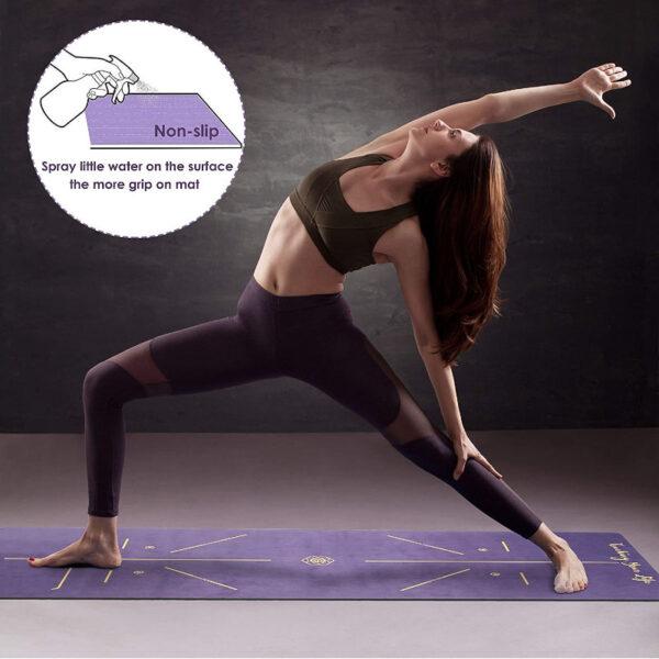 yoga mat microfibra