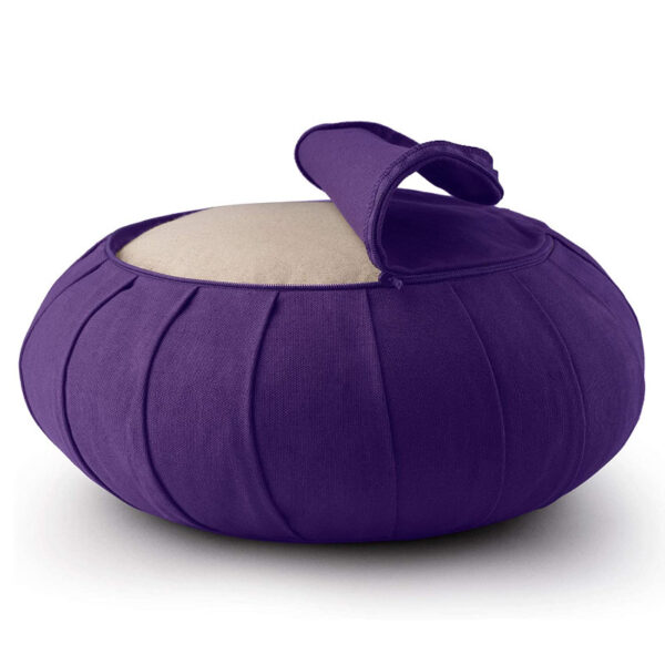 cuscino zafu basaho viola puro