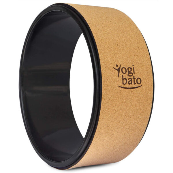 yoga wheel yogibato sughero