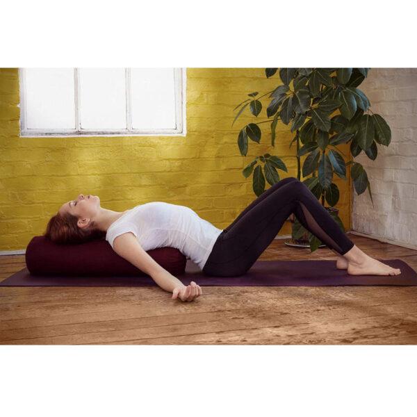 bolster yoga lavabile basaho