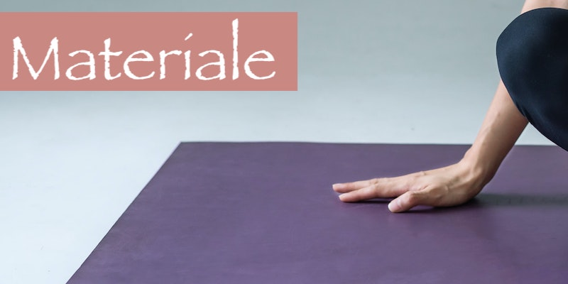 materiale tappetino yoga