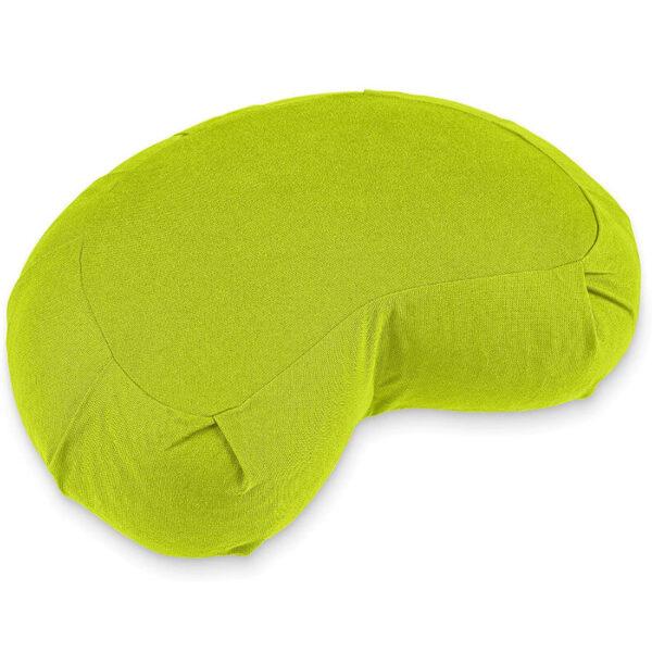 cuscino yoga mezzaluna verde lotuscrafts