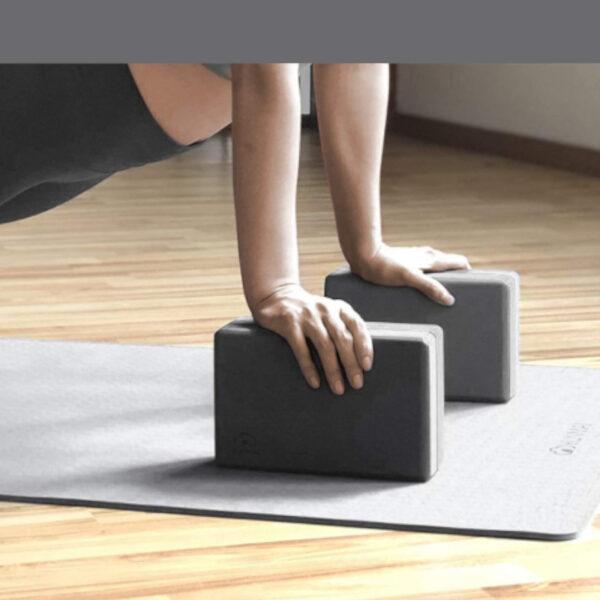 yoga blocks grigio yunmai